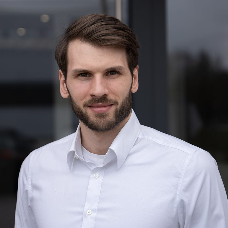 Dominic Rührer - Senior Sales Representative